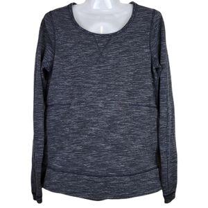 Lululemon Pleated Back Reflective Crew Sweatshirt Gray 6